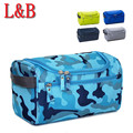 2016 High Quality Portable Man Travel Wash Bag Large Capacity Waterproof Cosmetic Bag Pouch Men's Bath Toiletries Bag Camouflage