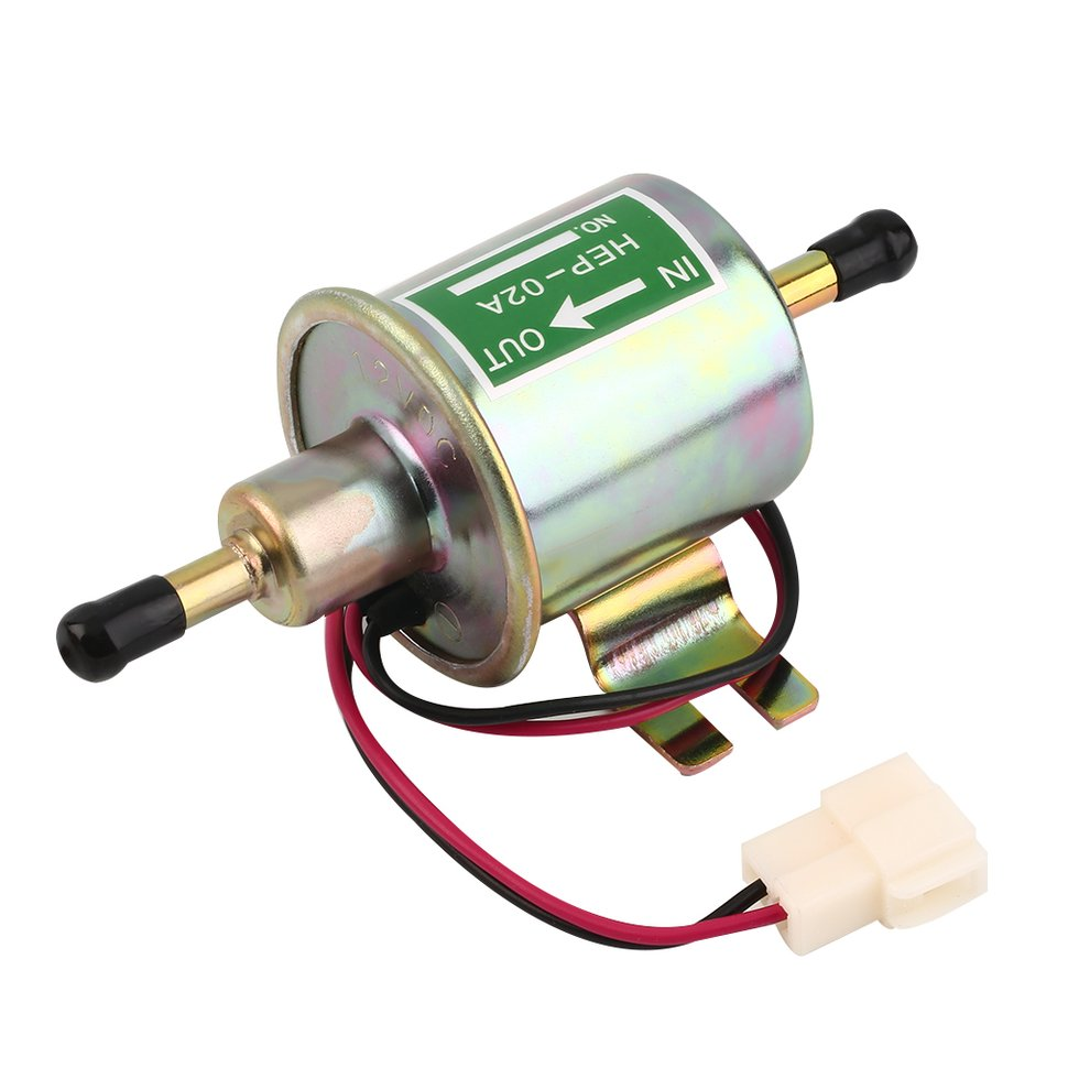 10pcs 12V Universal Car Electric Fuel Pump Low Pressure Aluminum Oil Burning Pump