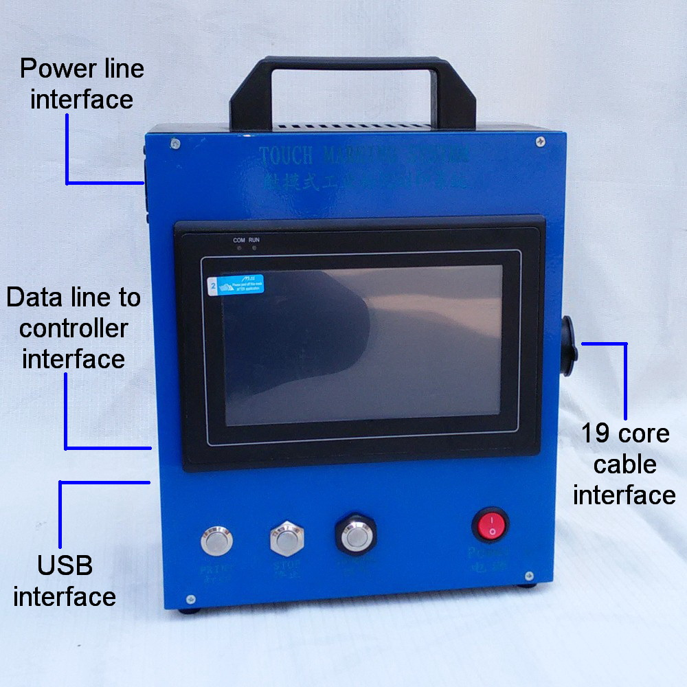 PMK-D01 Dot Peen Marking Machine For Metal Spare Parts ...