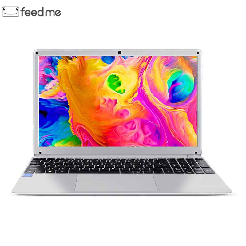15.6 Inch 4GB RAM 64GB ROM Notebook Windows 10 Pro Intel E8000 Quad Core Laptop  With HDMI WiFi Bluetooth Full Layout Keyboard