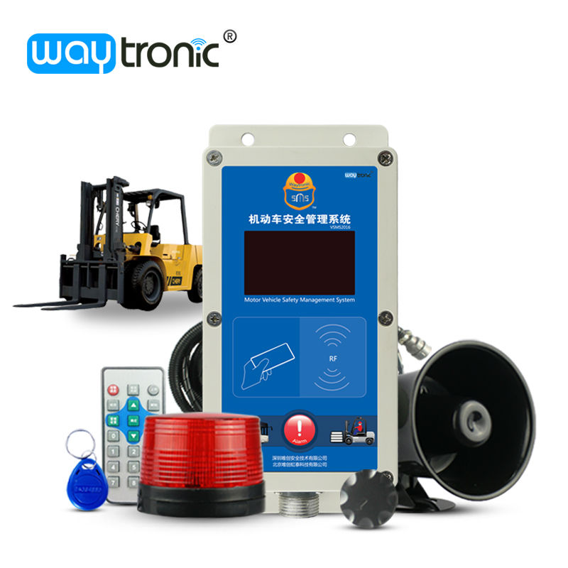 waytronic Official Store Electric Diesel Forklift IC Card Access Control Speed Limiter Overspeed Alarm Fleet Safety Management Speed Governor System