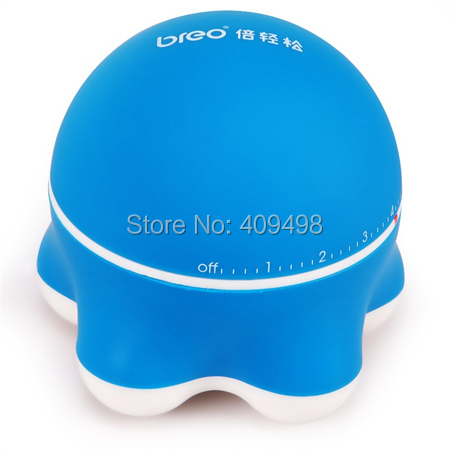 Breo mini329 blue black pink AAA battery powered mini head neck shoulder back hand leg body massager body solid gpcb 329