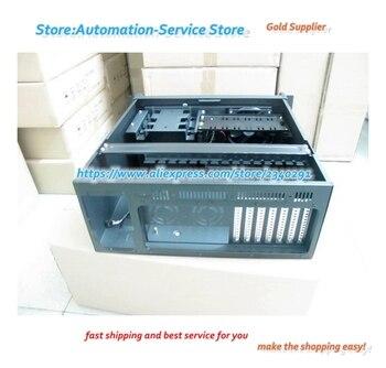4U Industrial Control Industrial Server Monitoring Equipment Video Storage Case ATX Board PC Power Black White