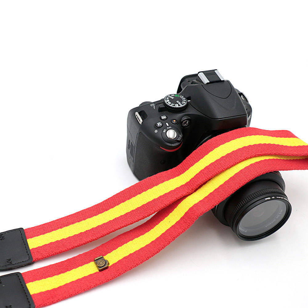Camera Accessories Vintage Shoulder Neck Strape Camera Strap for Sony Nikon Canon Olympus DSLR Camera LTW-11