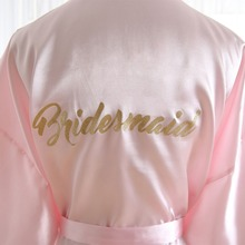 BZEL Bridesmaid Robes Sleepwear Robe Wedding Bride Bridesmai