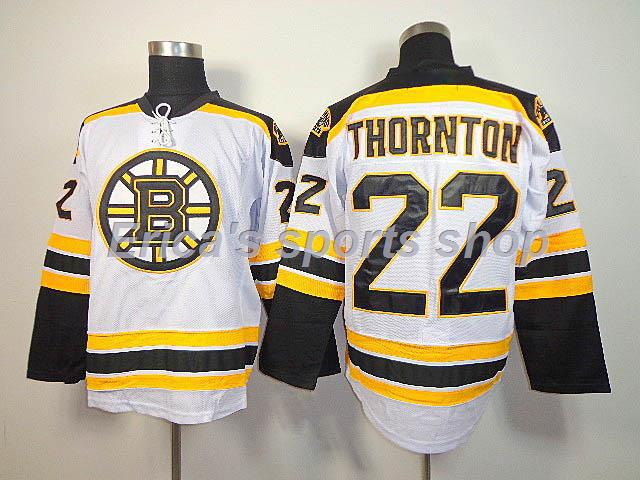 a3955f194d3 Cheap MEN'S Boston Bruins JERSEY Shawn Thornton #22 ICE HOCKEY JERSEY,  Authentic Stitched Quality #22 Thornton Jersey,Size S 3XL-in Hockey Jerseys  from ...