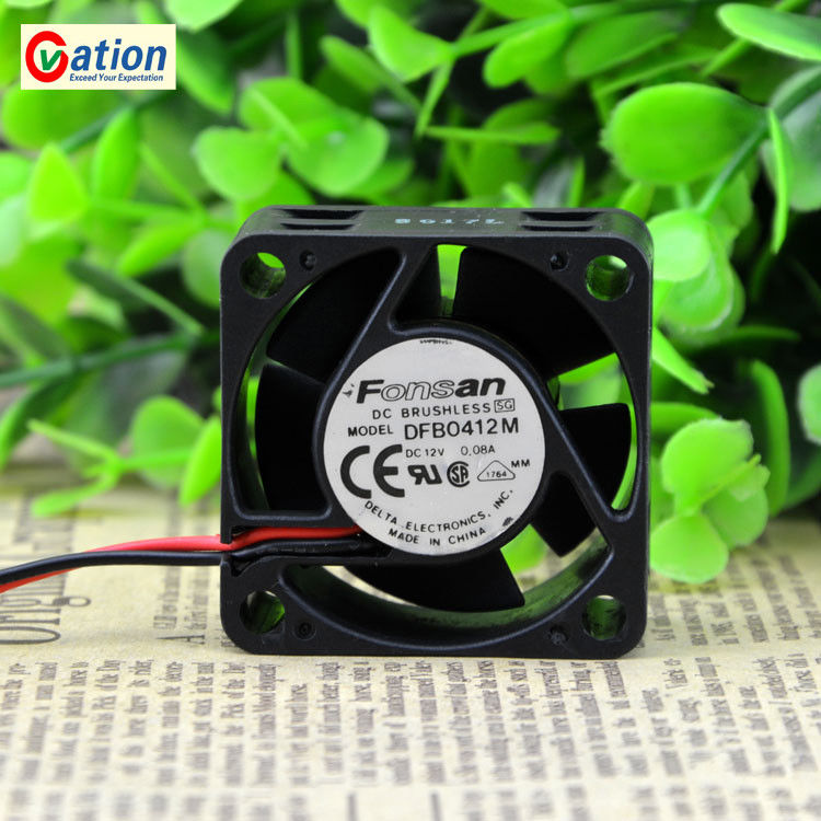 Ultra Silent Computer PC Case Fan For DFB0412M <font><b>4020</b></font> <font><b>12V</b></font> 0.08A 4cm Ultra-quiet 1U Switch Case A Cooling Fan image