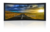 110 Inch Curved Frame Projector Screen Curved Frame Screen 110 Inch Curved Screen For Cinema Large