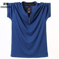 Plus Size L-8XL tshirt Tees New summer style high-elastic cotton t-shirt brand clothing 3d t shirt men tops