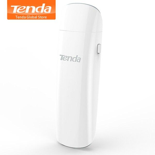 Tenda U12 1300 Мбит/с Беспроводной USB сетевые карты, AC Dual-Band 2,4G/5,0 ГГц Wi-Fi сетевой usb-адаптер, USB 3,0, гигабитный маршрутизатор партнер
