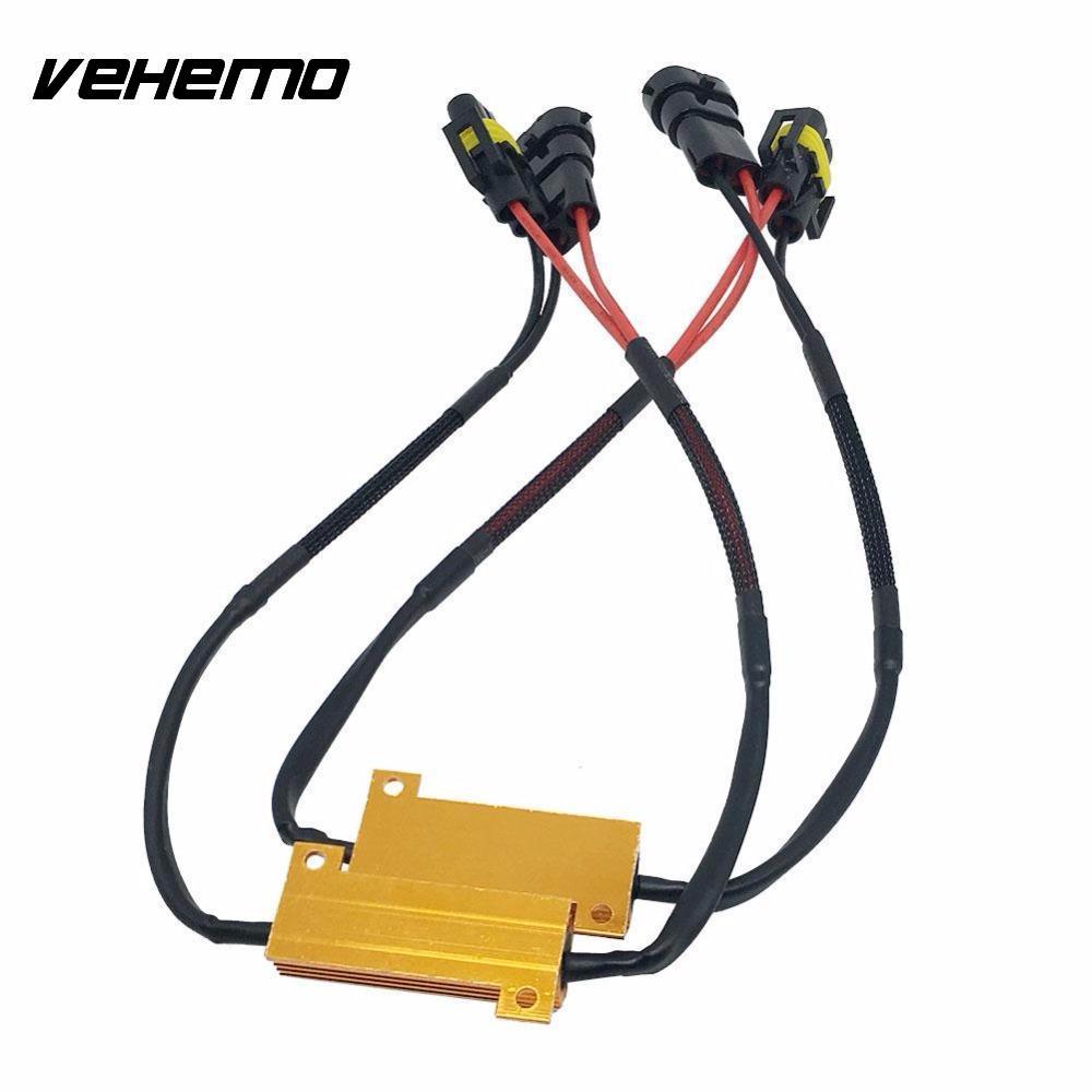 103106 2Pcs Auto Car Vehicle H8/H11 Signal LED Bulb Light Error Free Decoder Load Resistor 50W датчик lifan auto lifan 2