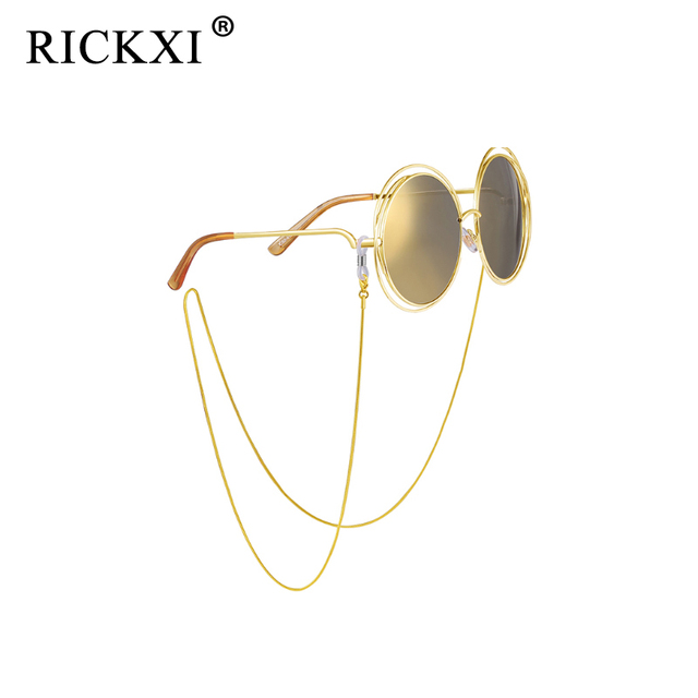f9ebd814e926f1 Schlangenkette Gläser Kette Gold Lesebrille Metall Cords Sonnenbrille  Brillen Halter Optische rahmen Seil