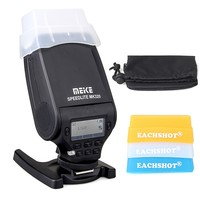MEIKE MK 320 TTL Flash Speedlite For Nikon Canon 2 version flash + 3 color filter