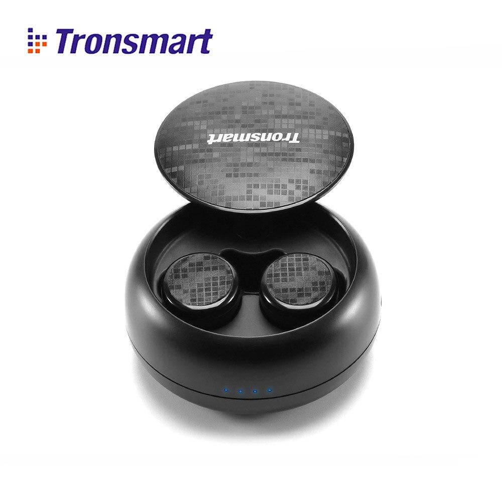 Tronsmart Encore Spunky Buds Bluetooth Earphones Wireless Earphone True Wireless Stereo Earbuds IPX5 with Mic for