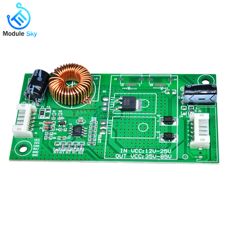 14-37 Inch LED LCD Universal TV Backlight Constant Current Board Driver Boost Step Up Module 10.8-24V to 15-80V14-37 Inch LED LCD Universal TV Backlight Constant Current Board Driver Boost Step Up Module 10.8-24V to 15-80V
