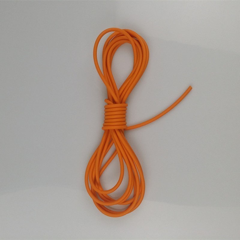 Image 3 - Natural Latex Slingshots Rubber Tube 0.5/1/2/3/4/5M for Hunting Shooting 2mmX5mm Diameter High Elastic Tubing Band Accessories-in Bow & Arrow from Sports & Entertainment