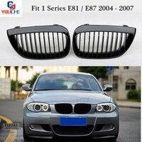 1 Series Hatchback E81 E87 Front Bumper Kidney Grill Mesh for BMW 2004 2007 116i 118i 120i 130i Front Grille Grid