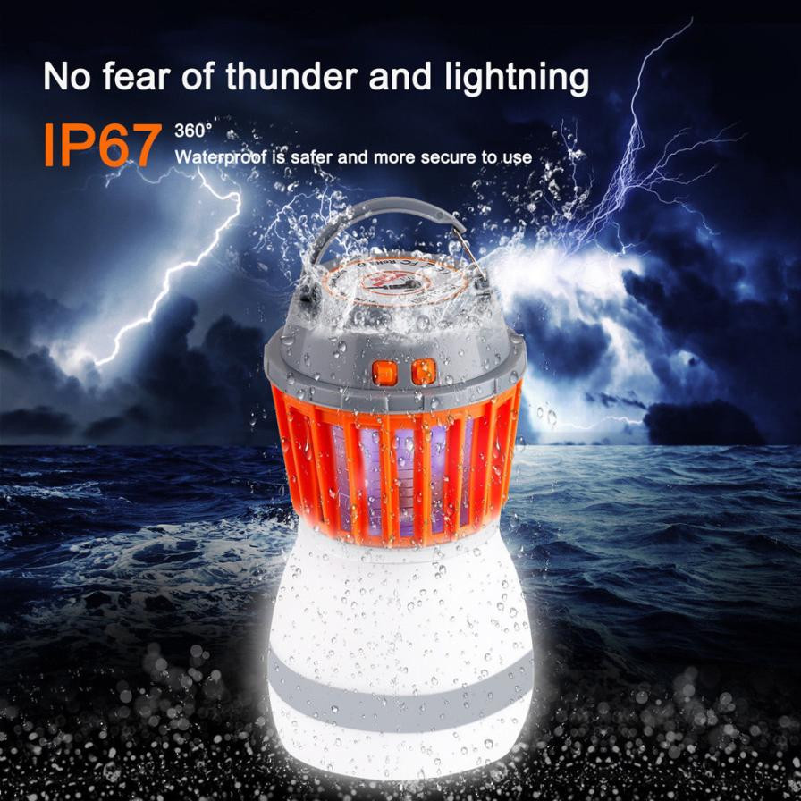 UV Electronic Insect Bug Pest Mosquito Trap Lamp Pest Control Mosquito Repellent Outdoor IP67 Waterproof Mosquito killer lamp