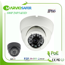 1080P 2MP FULL HD IP67 Vandalproof IR Night Vision Outdoor Dome CCTV Network IP Camera camaras de seguridad IPCam cam Onvif