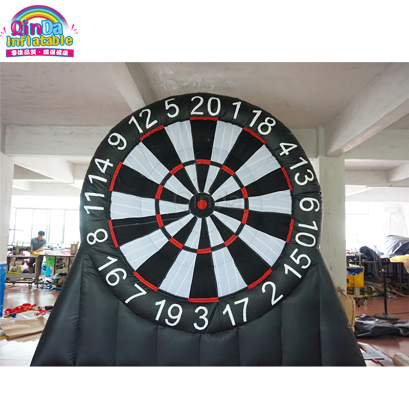 New Model Inflatable Soccer Dart Game, Giant Inflatable Foot Dart Board For Sale tsuyoki dart 80f 113