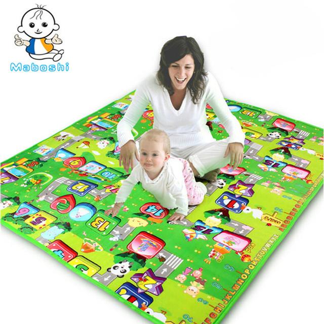 Autorizado Autêntico Maboshi Esteira Do Jogo Do Bebê 1.8*1.2 Metros Millionaire Jogo Mat Crianças Tapete Bebê Crawling Mat CM-002