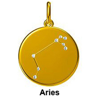 12 Constellation Pendant Necklaces Real 18K 750 Yellow Gold Natural Diamond Zodiac Sign Chain Necklace Jewelry For Women Girl 18K Gold Fashion Jewelry Jewelry and Watches Metal Type Necklace Necklace & Pendant Pendant Rose Gold White Gold Yellow Gold Zodiac Sign Pendant Gem Color: Aries Length: 18K Yellow Gold