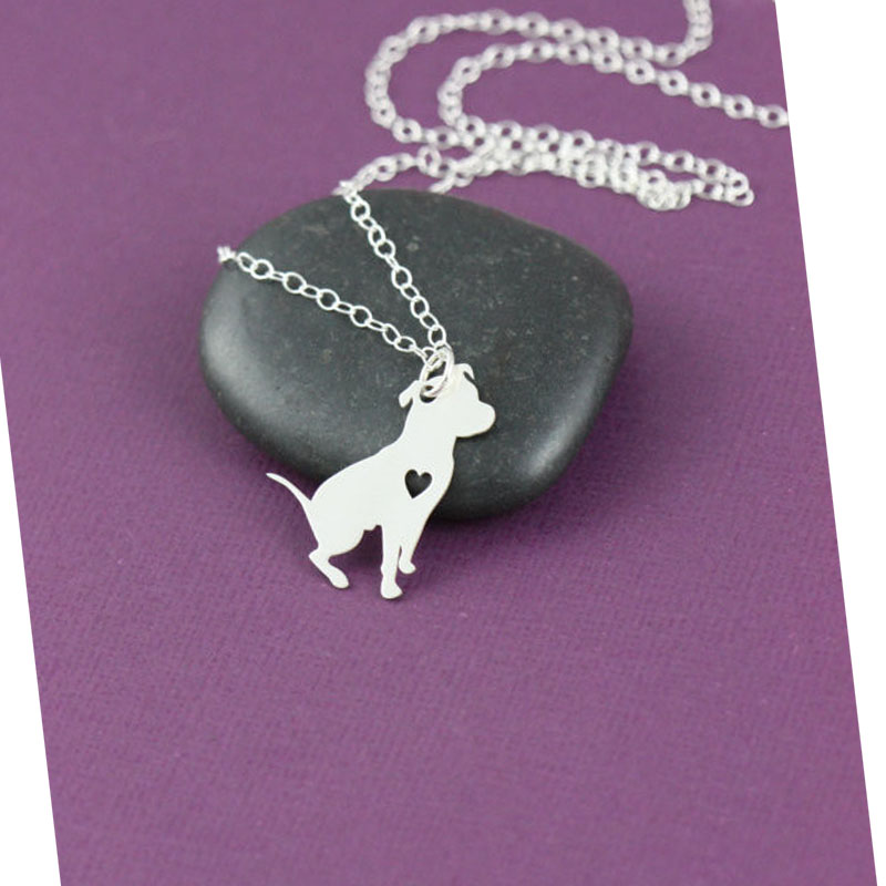 pitbull jewelry pit bull necklace 8450