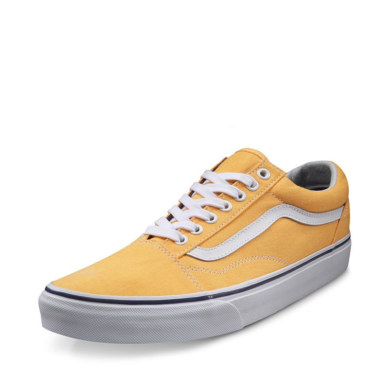 3153b04983299b Товар Vans Old Skool Yellow Sneakers Low-top Trainers Unisex Men ...