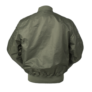 Image 2 - 2020 Autumn Top gun Us navy MA1 letterman varsity baseball Pilot air force flight college tactical military army jacket for men