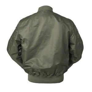 Image 2 - Осенний топ пистолет Us navy MA1 letterman varsity бейсбольный пилот ВВС летный колледж Тактическая Военная армейская куртка для мужчин 2020