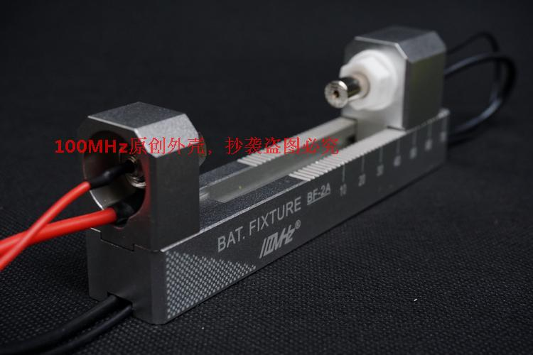double self locking aluminum alloy CNC four wire battery rack fixture BF 2A suitable for 18650