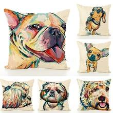 BeddingOutlet Rainbow Unicorn Cushion  Believe Miracles Cartoon Pillow Animal for Kids Girls Pillowcase Soft