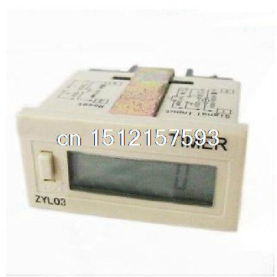 220V Digital Cumulative Time Counter ZYL03-2 Timer Counting Working Hour construction litigation formbook 1993 cumulative supp