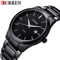 2016 new fashion Curren brand design business calender men male clock casual stainless steel luxury wrist quartz watch gift 8106