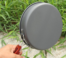 Fire Maple Camping Cookware  4-5 Persons Pot Sets (Frying Pan/Cauldron/Medium Pot/Pannikin) Camping Cooking Kit Picnic FMC-206