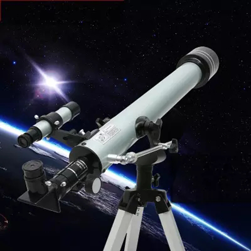 F60070 Outdoor Monocular Space Astronomical Telescope Refractor with Tripod 525 Times Zooming Monocular Telescope Spotting Scope-in Monocular/Binoculars from Sports & Entertainment    1