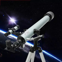 F60070 Outdoor Monocular Space Astronomical Telescope Refractor with Tripod 525 Times Zooming Monocular Telescope Spotting Scope