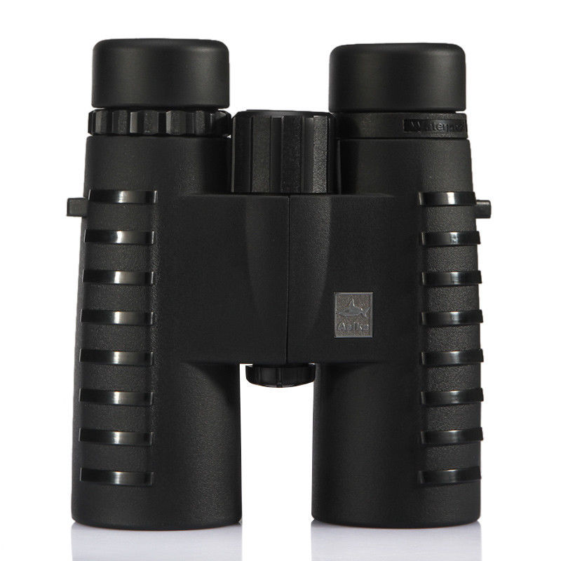 10x42 Camping caza ámbitos Asika binoculares con correa para el cuello bolsa de visión nocturna telescopio Bak4 prisma óptica Binocular - 2