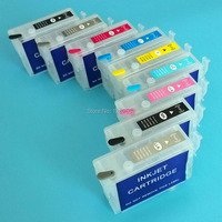 P600 Refillable Ink Cartridge With ARC Chip For Epson P600 T7601 T7609 For Epson Surecolor SC P600 Printer