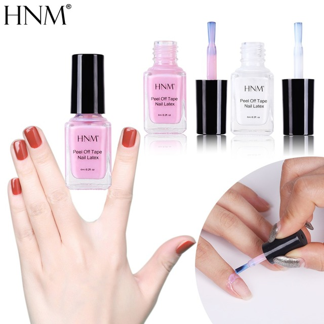 Hnm Easy L Off Protective Nail Polish Primer Glue Finger Skin Lacquer