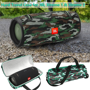 Image 1 - Hard Travel Case For JBL Xtreme 1 And JBL Xtreme 2 Camouflage EVA Cover Pouch Bag For JBL Xtreme 1&2 Portable Bluetooth Speaker