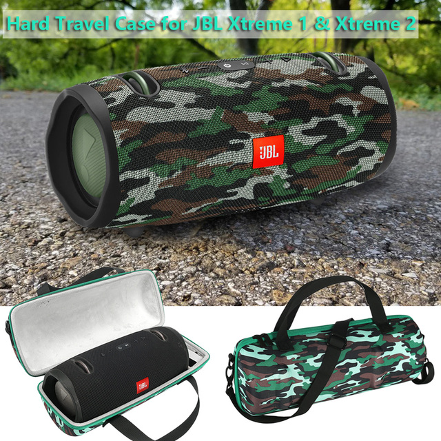 Hard Travel Case For JBL Xtreme 1 And JBL Xtreme 2 Camouflage EVA Cover Pouch Bag For JBL Xtreme 1&2 Portable Bluetooth Speaker