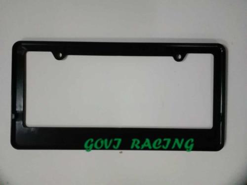 crni okvir registarske tablice automobila ABS držač registarske - Vanjska auto oprema - Foto 3