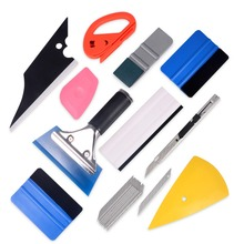 EHDIS Vinyl Car Wrap Tools kit Carbon Fiber Film Squeegee Scraper Cutter Knife Styling Auto Sticker Wrapping Accessories