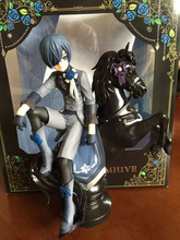 Black Butler Book of Circus Kuroshitsuji Ciel PVC Anime Action Figure Collectible 18cm Model Toy