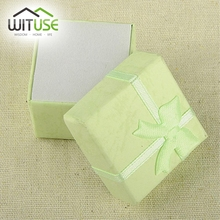 19 color 2 SIZES—-Floral Necklace Earrings Ring Box 5*8cm 4x3cm Jewelry Box Paper Jewelry Gift Box Jewellery Organizer