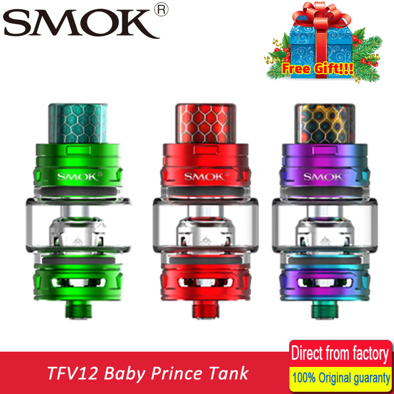 Smok New TFV12 Baby Prince Tank 4.5ml Top-filling E-Cigarettes Atomizer with Baby-Q4 Baby-T12 Coil Fit Alien Box MOD Vape