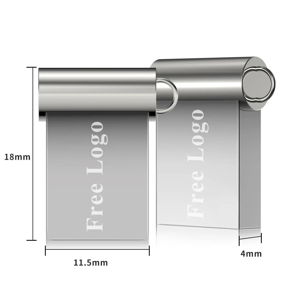 usb flash drives 2.0 spuer mini metal pendrive 128gb pen drive 64 gb personalized gb 8gb 16gb 64gb 32gb memory stick portable (3)