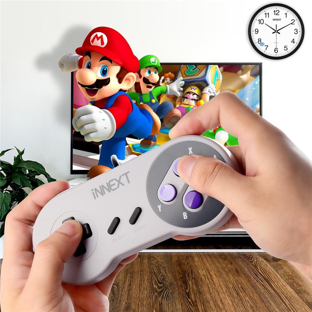 Wired USB Gamepad SNES game controller Retro gaming joypad joystick For Nes UK control (6)