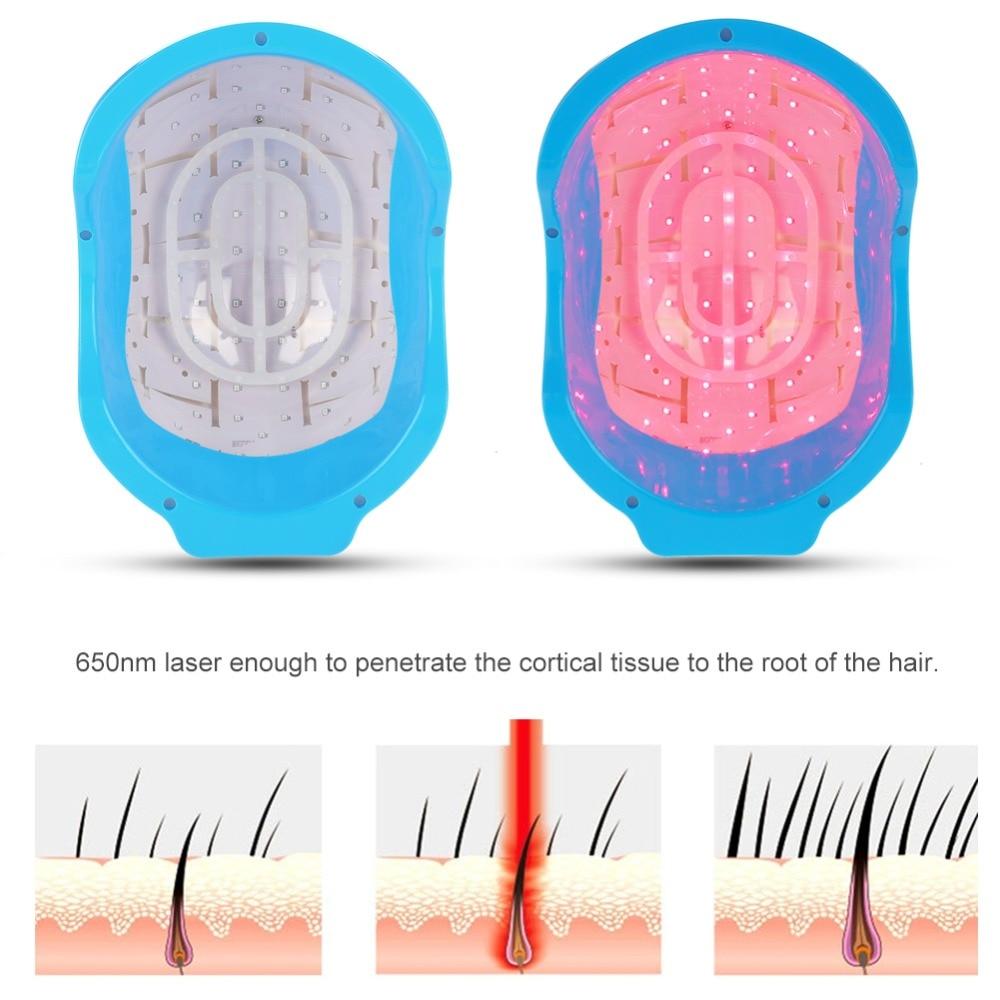 Terapia a laser capacete de crescimento do